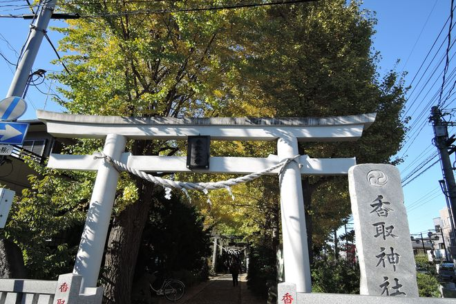 越谷 香取神社