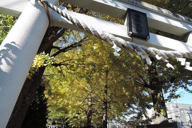越谷香取神社の鳥居