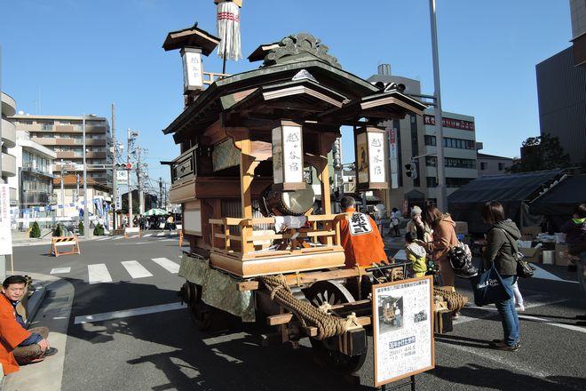 越ヶ谷宿の山車