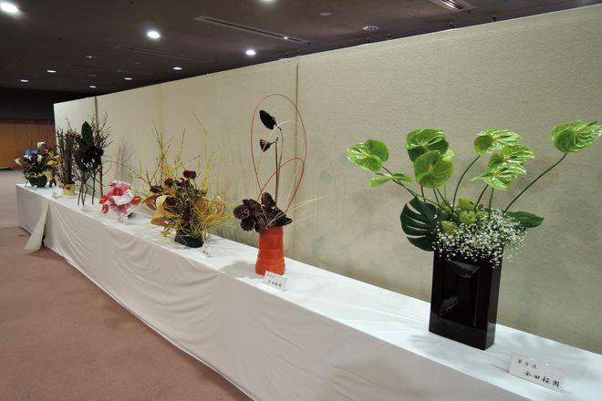 越谷市民文化祭:華道コーナー