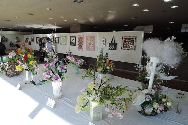 越谷市民文化祭:工芸コーナー