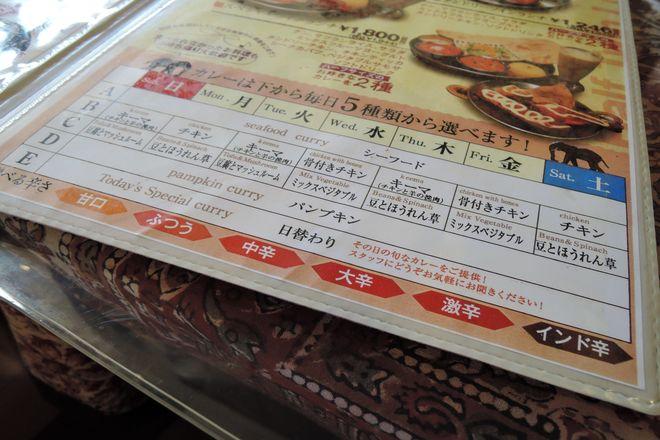 ダタール東川口店はカレーの辛さが選べます。