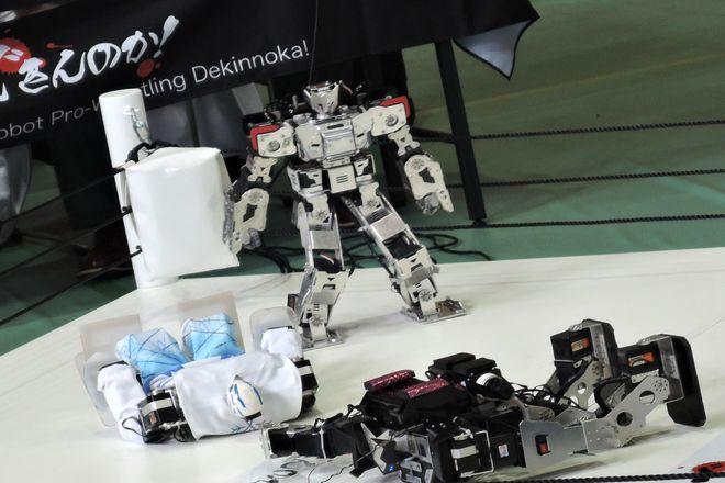 ロボットプロレス