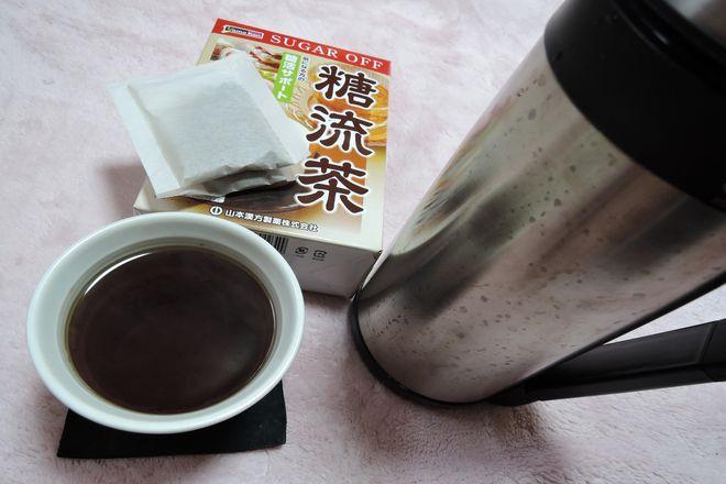 糖流茶の作り方