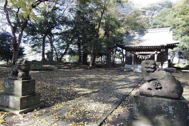 大相模久伊豆神社の境内