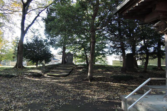 大相模久伊豆神社の富士塚