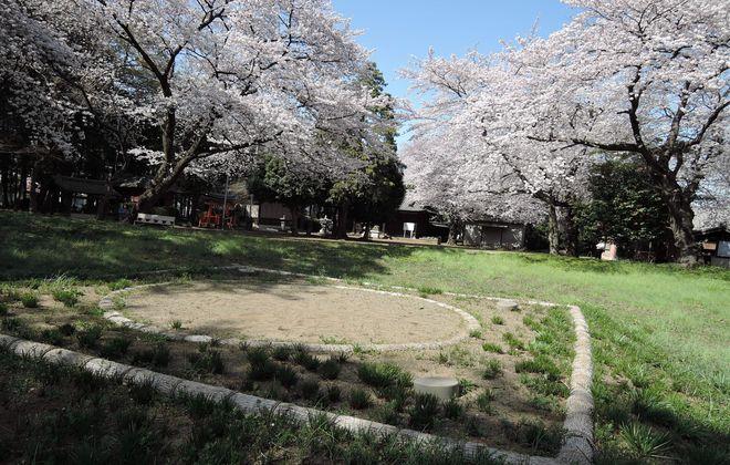笹久保八幡神社の土俵