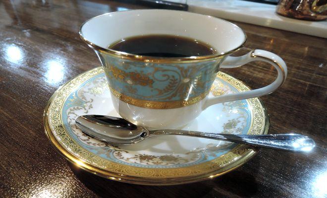 ノリタケ製コーヒーカップ&ソーサー