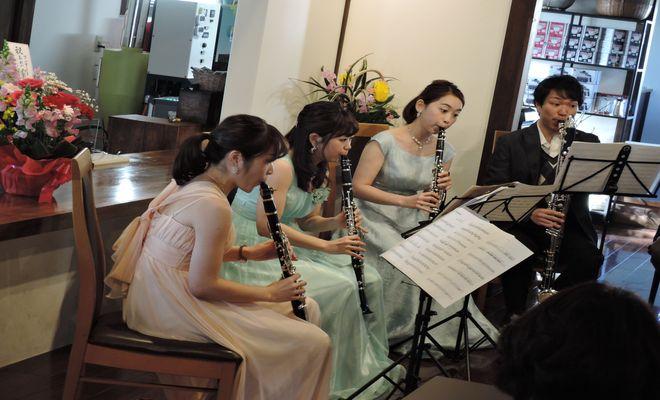 クラリネット四重奏コンサート