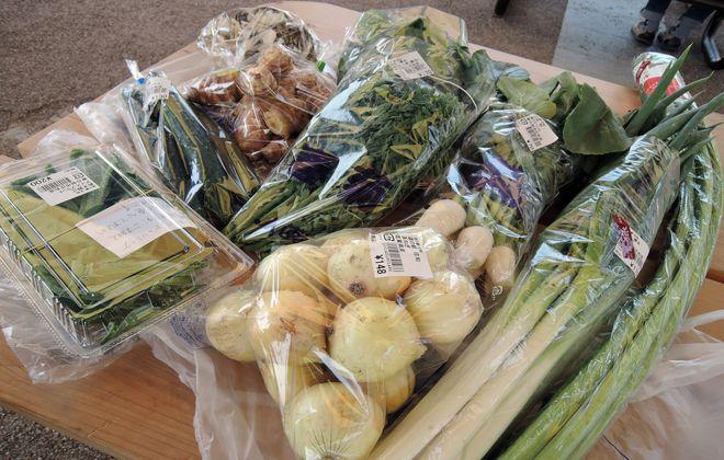 農家直売の野菜