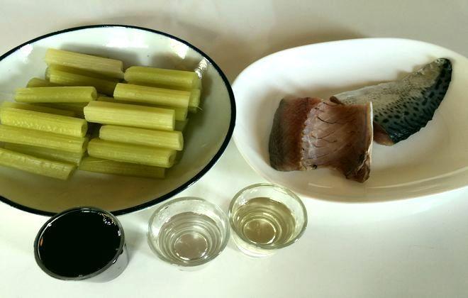フキ鯖の材料
