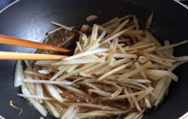 菊芋のきんぴらの作り方