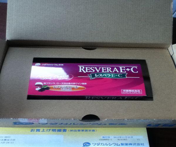 レスベラトロール 包装