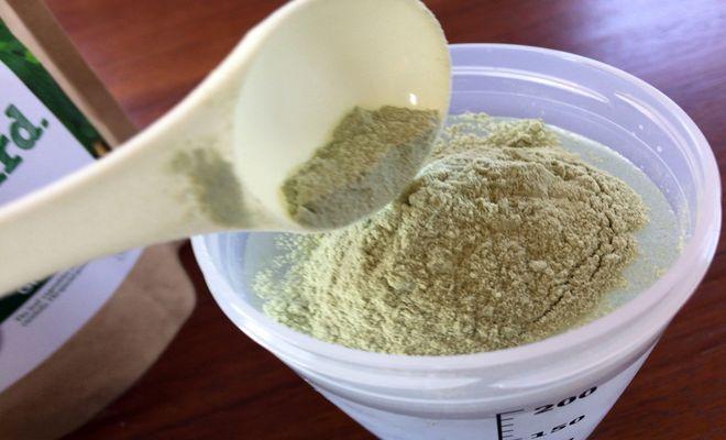 ミネラル酵素グリーンスムージーに作り方