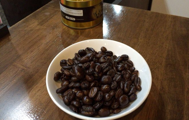 ジャコウネコのコーヒー豆