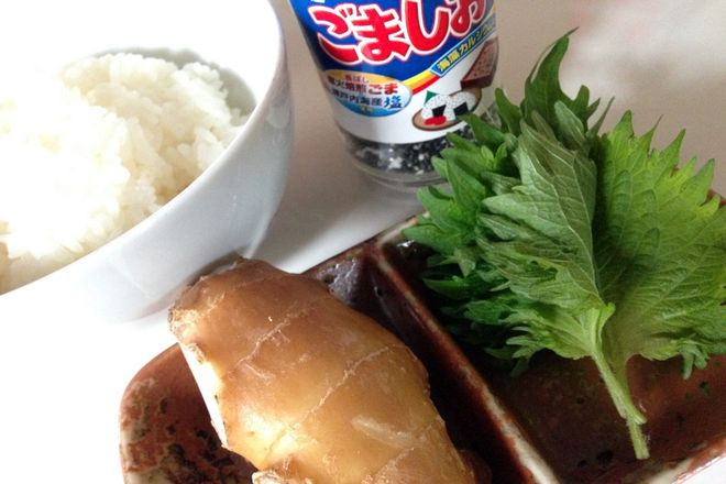 ショウガ紫蘇ご飯:材料
