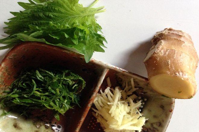 生姜シソご飯の作り方