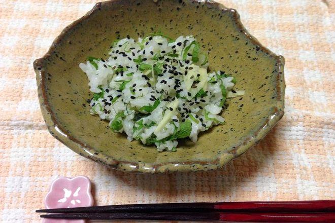生姜シソご飯