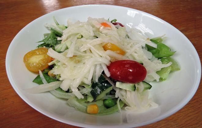 2型糖尿病治療中の昼食メニュー