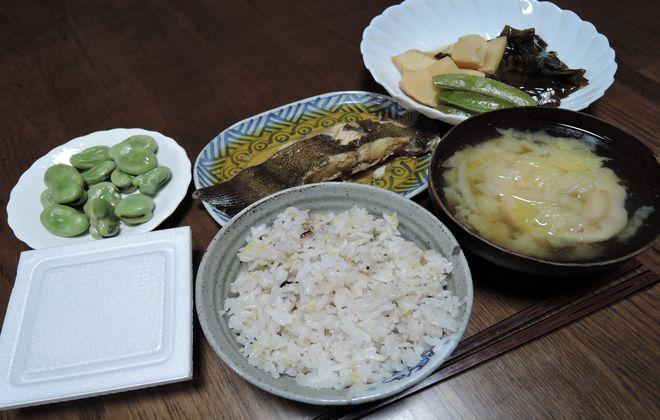 2型糖尿病の夕食メニュー