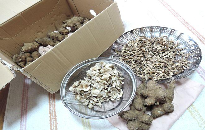 菊芋の粉末の作り方