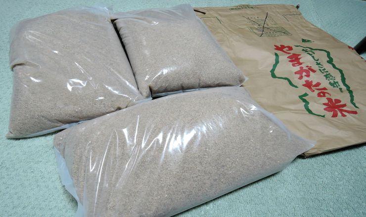 玄米30キロ