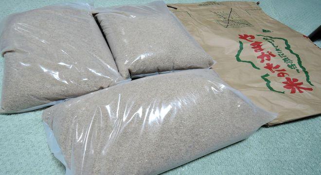 山形産の玄米