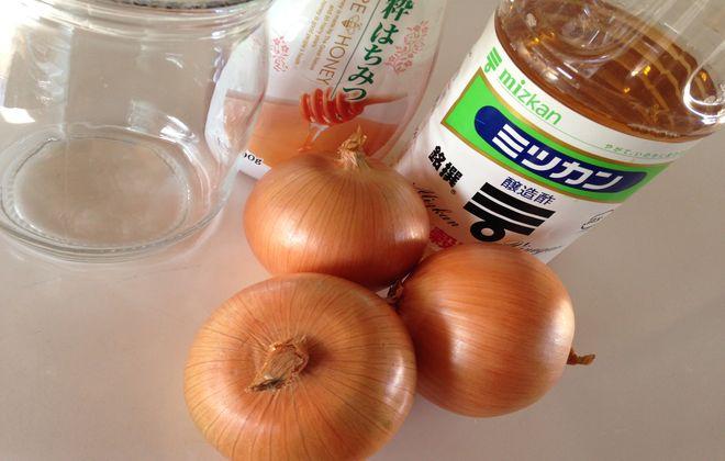 酢玉ねぎ材料