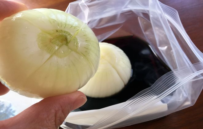 玉ねぎのお漬物の作り方