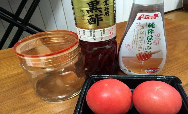 酢トマトの材料