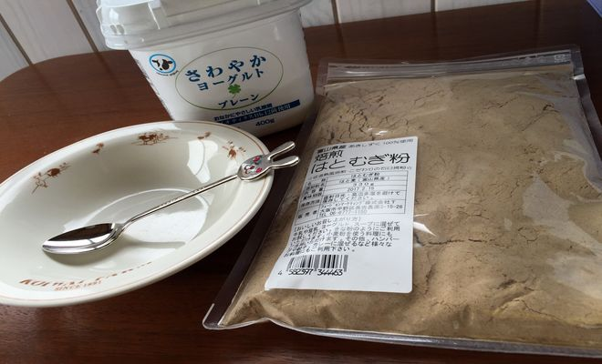 ハトムギ粉の食べ方