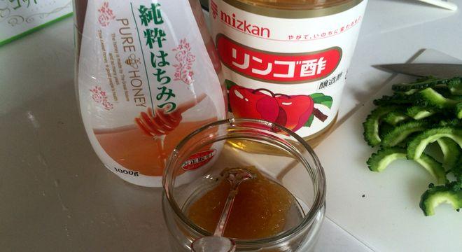 酢ゴーヤの材料