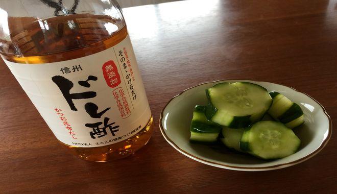 きゅうりの酢の物