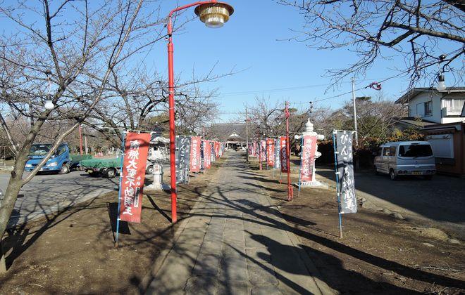 大聖寺の参道