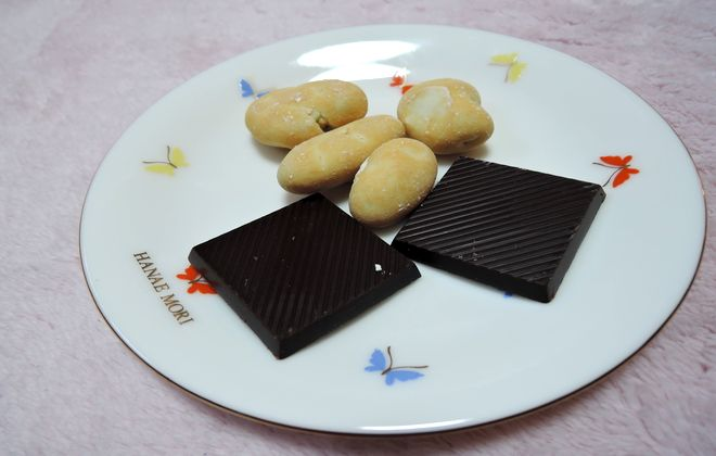 上島珈琲店のピーカンナッツチョコレート
