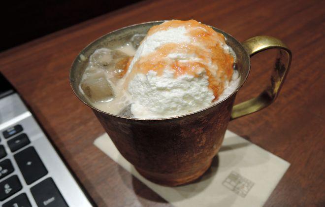 佐藤錦のミルク珈琲