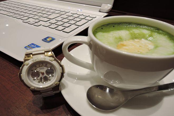 上島珈琲店 抹茶生姜ミルク