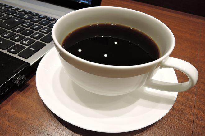 上島珈琲浦和美園店のブレンドコーヒー