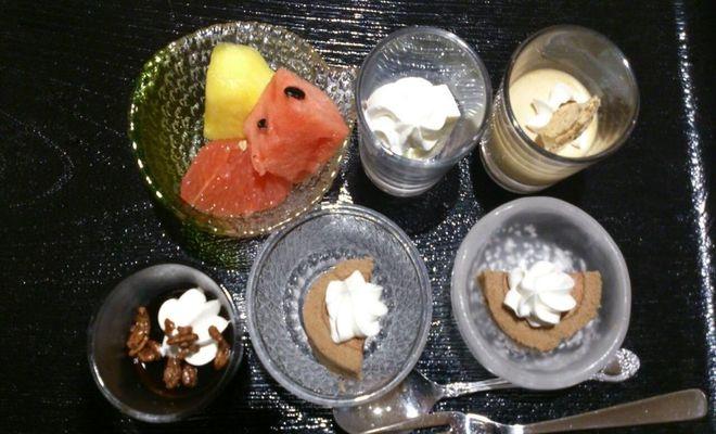 どのフルーツも一口サイズで食べやすかったです。