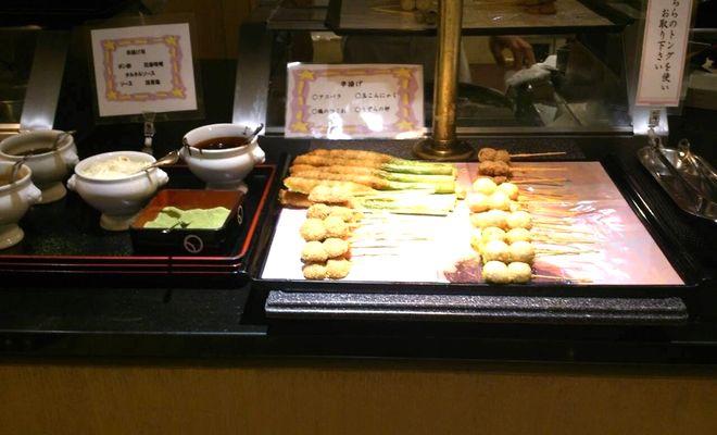 リカーヴ箱根の夕食バイキングの感想